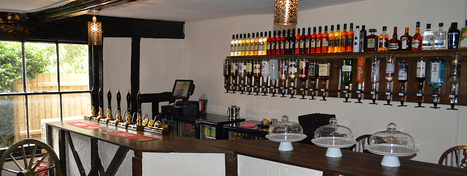 wide choice of real ales, cider and fruit wines
